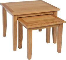 Oak Square Modern Nested Tables