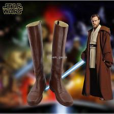 Star Wars Cosplay Boots Jedi Knight Obi-Wan Cosplay Shoes Unsix Adult Shoes
