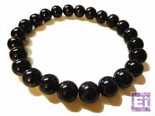 Akuma Prayer Bead Necklace: Black