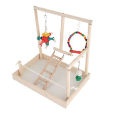 Parrot Playstand Bird Playground Wooden Perches Bird Claw Play Stand Toy Type 2