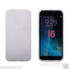 Cover e custodie bianco in silicone/gel/gomma con un motivo, stampa per cellulari e palmari