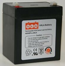 Rechargeable 12V 4.5AH SLA Battery replaces np4-12 ub1245 gp1245 ps-1250 ps1250