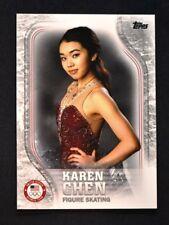 2018 Topps US Winter Olympics Base #usa-16 Karen Chen