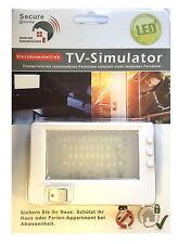 LED TV Simulator Fake TV Fernseh Attrappe Dummy Einbruchschutz Strom