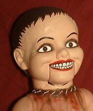 "HAUNTED Ventriloquist doll ""EYES FOLLOW YOU"" puppet creepy dummy OOAK reborn"