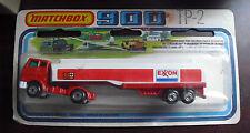 Vintage 1980 Matchbox 900 Diecast Plastic EXXON Gas Tanker Truck NIB TP-2