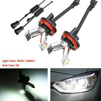 Pair LED Angel Eyes Halo Head Light Bulbs For BMW E92 E93 3-Serie M3 328i, 335i