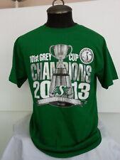 2013 Grey Cup Saskatchewan Roughriders Shirt -Shiny Grey Cup Graphic -Mens Large