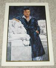 Rare Playboy Mansion Hugh Hefner Personal Christmas Card 1999 Printed Signed Hef
