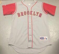 Vintage Brooklyn Cyclones Road Jersey Size Medium MILB New York Mets NY