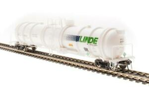 Broadway Limited Linde UTLX Cryogenic Tank Car N Scale 3724 2-Pack Set