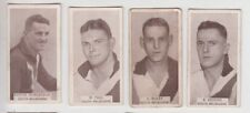 South Melbourne Football Club 1933 W D & H O Wills group of 4 cigarette cards