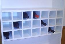 Flascheneinsatz IKEA Regal Billy für 21 Flaschen / Weinregal / Regaleinsatz
