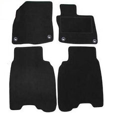 Honda Civic Tailored Car Floor Mats 2012 - 2016 - Black (Not for 1.6 Diesel)