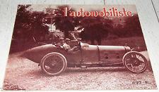 L'AUTOMOBILISTE 1971 N°23 JEAN CHASSAGNE PILOTE COURSES ALFA ROMEO P3