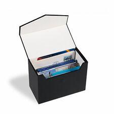 Leuchtturm Archivbox Logik Mini C6, schwarz, für Einsteckkarten etc. (359415)