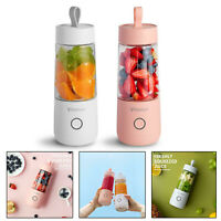350ml Portable USB Rechargeable Cup Electric Juicer Bottle Fruit Blender Mixer