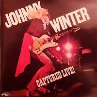 CD JOHNNY WINTER CAPTURED LIVE Ref 3507