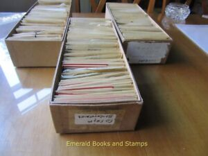 EBS - COLOSSAL Ex-Dealer Inventory - Massive amount of stamps! - PART 3