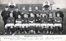 Soccer / Football. Bristol City Cup Team by R.Scott.