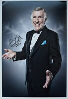 Bruce Forsyth Signed 12x8 Photo Autograph Signature Strictly TV Dance AFTAL COA