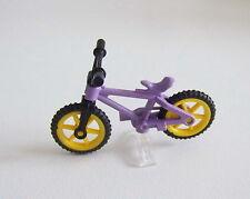PLAYMOBIL (1523) ENFANTS - Vélo Violet & Noir avec Support Transparent