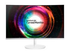 "Samsung Curved Monitor C32H711Q LED-Display 80 cm (32"") weiß (LC32H711QEUXEN)"