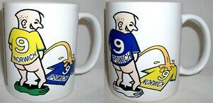 Funny Wee On Norwich Ipswich Coffee Tea Mug Football Shirt Fan Rivalry