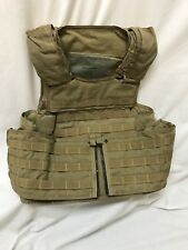 PreMSA Paraclete RAV Armor Plate Carrier Coyote M Delta Force CAG Special Forces