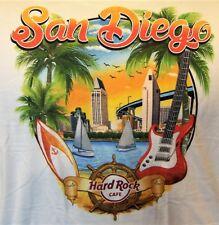 HARD ROCK CAFE SAN DIEGO V17 CITY TEE T-SHIRT SIZE ADULT XX-LARGE  NEW WITH TAGS