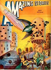Amazing Stories  Vol 7  #2  Pulp  May 1932   VF  Morey cover, Jones, Hale, Breue