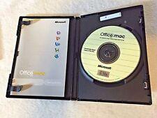 USED Microsoft Office 2004 Mac Student Teacher Word Excel 3 Keys! FREE SHIPPING!