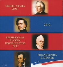 2010 US Mint Presidential P & D Uncirculated Sets Unopened