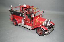 Alte Feuerwehr Modellauto Blechauto 36 cm Oldtimer  Feuerwehrauto