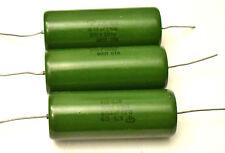 New listing 0.33 uF 500 V Pio Capacitors.K75-10 Lot of 3. New