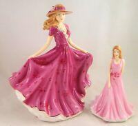 Royal Doulton Elizabeth HN5671 & Liz HN5677 China Figures *2014 Figure of Year*