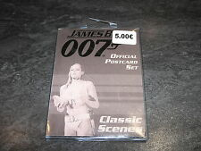 GOODIES JAMES BOND 007 CLASSIC SCENES OFFICIAL POSTCARD SET DANJAQ OCCASION