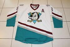 NHL Jersey Mighty Ducks Selanne 8 Anaheim Hockey sur Glace Large 50 ccm blanc