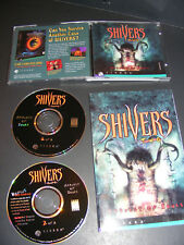 Shivers Two: Harvest of Souls (PC, 1997) Game CD + Audio Soundtrack set w manual