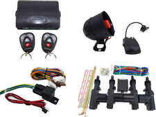 High Quality Car Alarm Remote Siren Shock Sensor Full Set Central Locking Kit 2