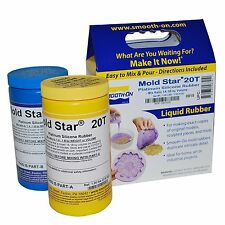 Mold Star 20T Silicone Mold Making Rubber - Trial Unit 2 lbs.