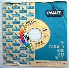 DEEP SIX 1969 mod beat promo 45 C'MON BABY IMAGE OF A GIRL pop psych e8330