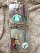 Hikaru no Go Tinibiz mascot figures set of two phone strap