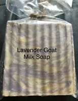 LAVENDER - Goats Milk Soap Handmade 3 oz. Bar Hemp All Natural Pain Relief