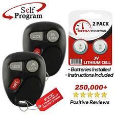 2 For 1999 2000 2001 Gmc Sierra 1500 2500 3500 Hd Remote Keyless Entry Key Fob