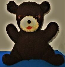 Vintage Teddy Bear with Glass Eyes Circa 1950's or so