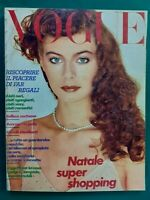 Vogue Italy Shopping 334 December 1978 December Furs Fashion Fur Fourrure Pelz