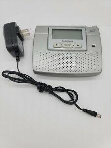 Radio Shack 12-260 NOAA Bedside Weather Alert Radio Alarm Clock  A3