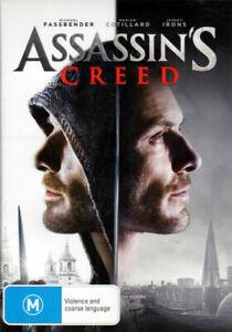 Assassin's Creed - Michael fassbender, Marion Cotillard, Jeremy Irons - DVD