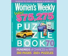 Australian Women's Weekly Win $75.275 Cash Puzzle AWW Book 70 June 2021 Magazine